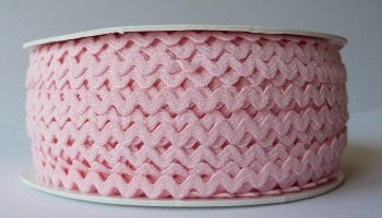 6mm Ric Rac - Light Pink