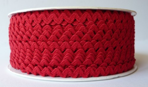 6mm Ric Rac - Red