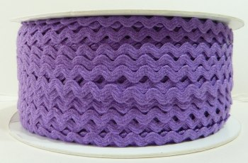 6mm Ric Rac - Purple