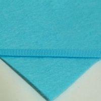 6mm Plain Grosgrain Ribbon - Pastel Turquoise