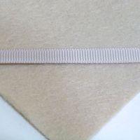 6mm Plain Grosgrain Ribbon - Fawn