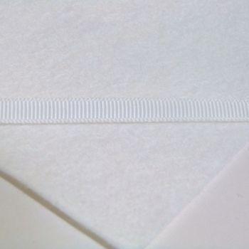 6mm Plain Grosgrain Ribbon - Natural