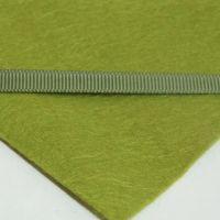 6mm Plain Grosgrain Ribbon - Olive