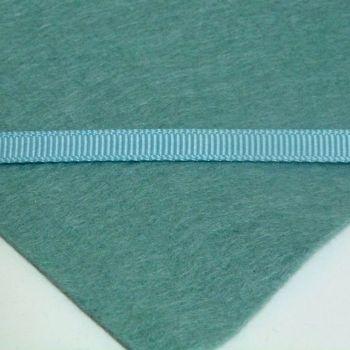 6mm Plain Grosgrain Ribbon - Sage