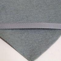 6mm Plain Grosgrain Ribbon - Ash