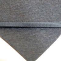 6mm Plain Grosgrain Ribbon - Charcoal