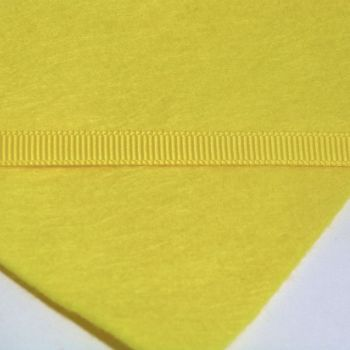 6mm Plain Grosgrain Ribbon - Yellow