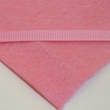 6mm Plain Grosgrain Ribbon - Pink