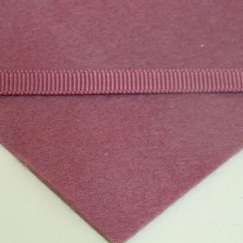 6mm Plain Grosgrain Ribbon - Dark Raspberry