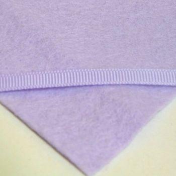 6mm Plain Grosgrain Ribbon - Pastel Lilac