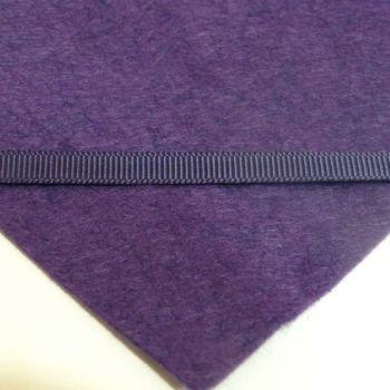 6mm Plain Grosgrain Ribbon - Plum
