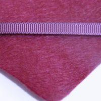 6mm Plain Grosgrain Ribbon - Claret