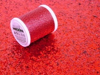 Metallic Thread - Red