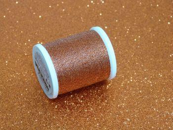 Metallic Thread - Orange