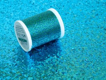 Metallic Thread - Blue