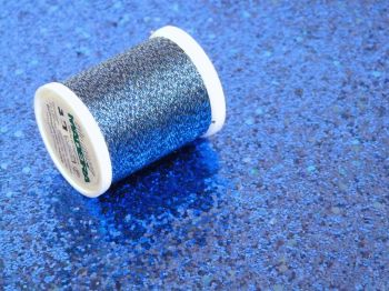 Metallic Thread - Royal Blue