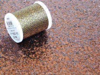 Metallic Thread - Chocolate Brown
