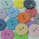 18mm Stripe Buttons