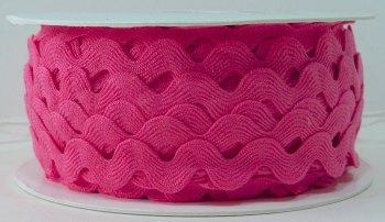 16mm Ric Rac - Bright Pink