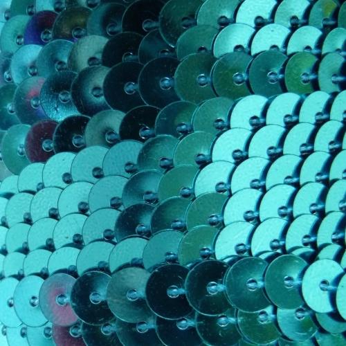 6mm Sequin Trim - Turquoise