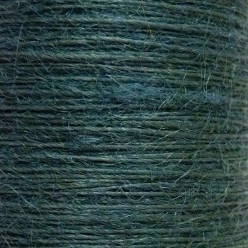 10 metres Button Twine - Forest Green
