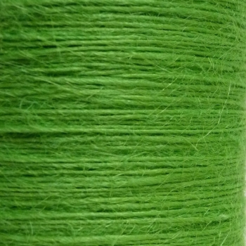 5 metres Button Twine - Lime Green