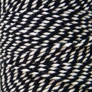 10m Bakers Twine: Black/White