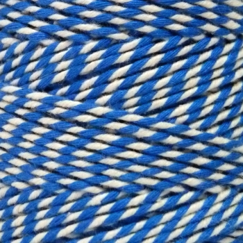 5 Metres - Bakers Twine: Blue/White