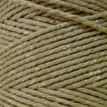 5 Metres - Bakers Twine: Solid Gold
