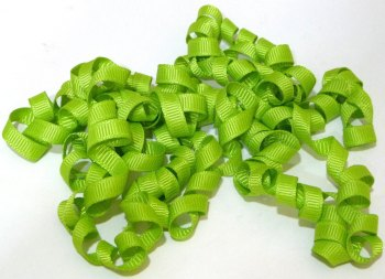 SALE 2 Metres - Curly Ribbon - Lime Green