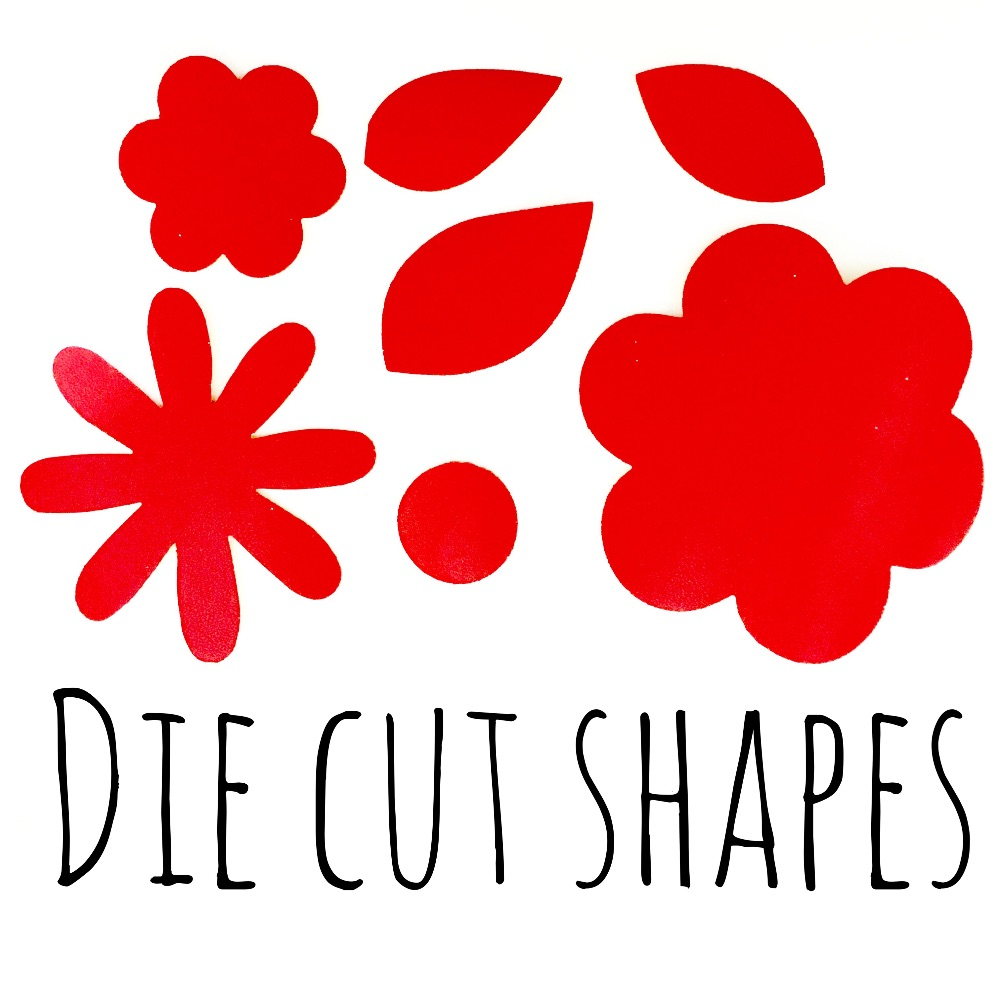 Die Cut Shapes