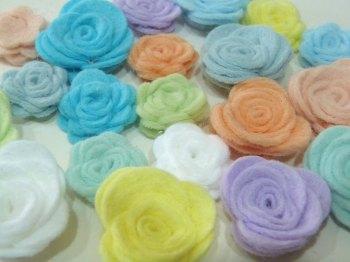 Make Me - Die Cut Roses Set - Colour Collection - Pastels