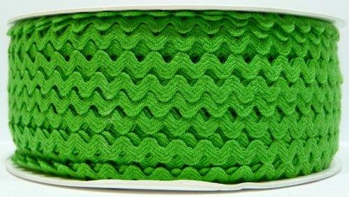 6mm Ric Rac - Green