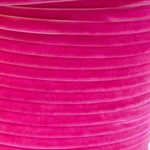 6mm Velvet Ribbon - Fuchsia