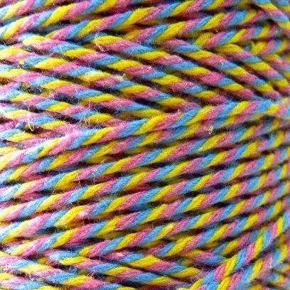 10m Bakers Twine: Pastel