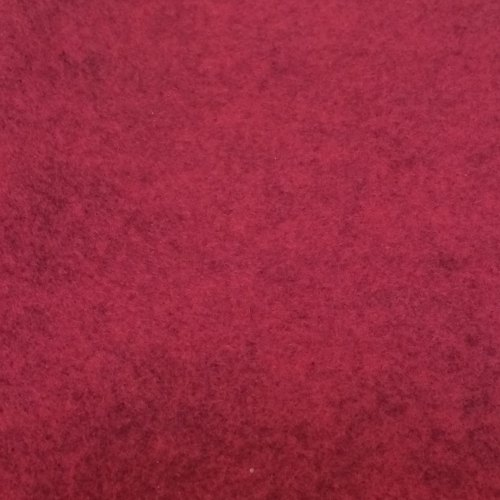 Heathered Felt - Sheets - Raspberry