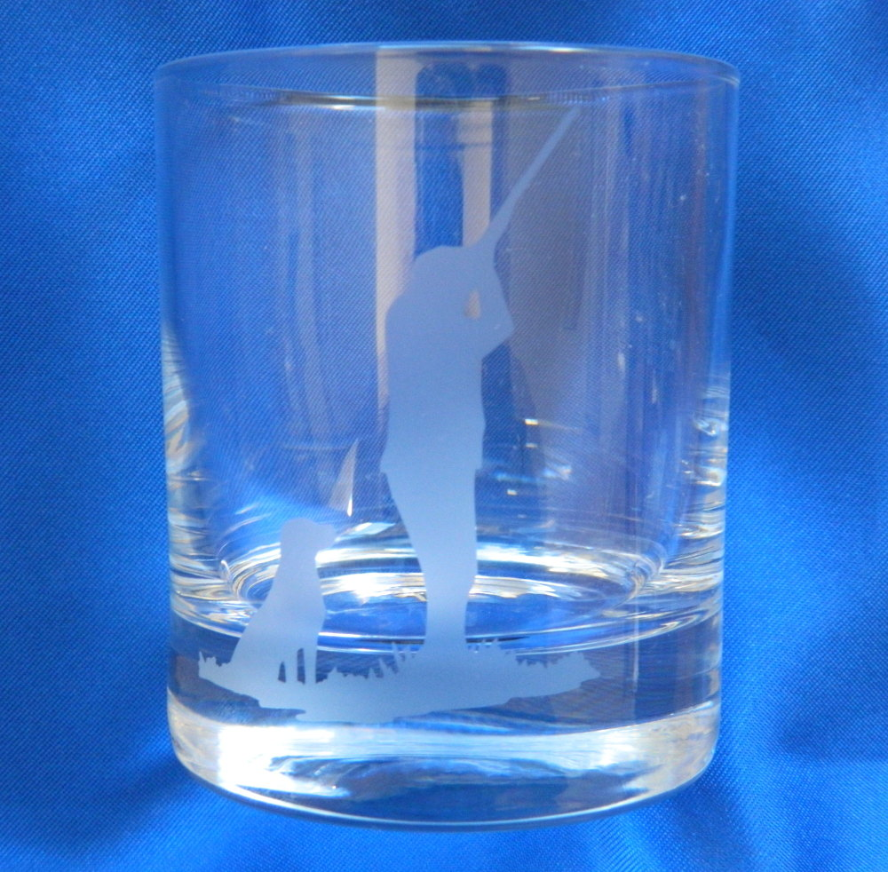 Shooter and lab whisky glasses