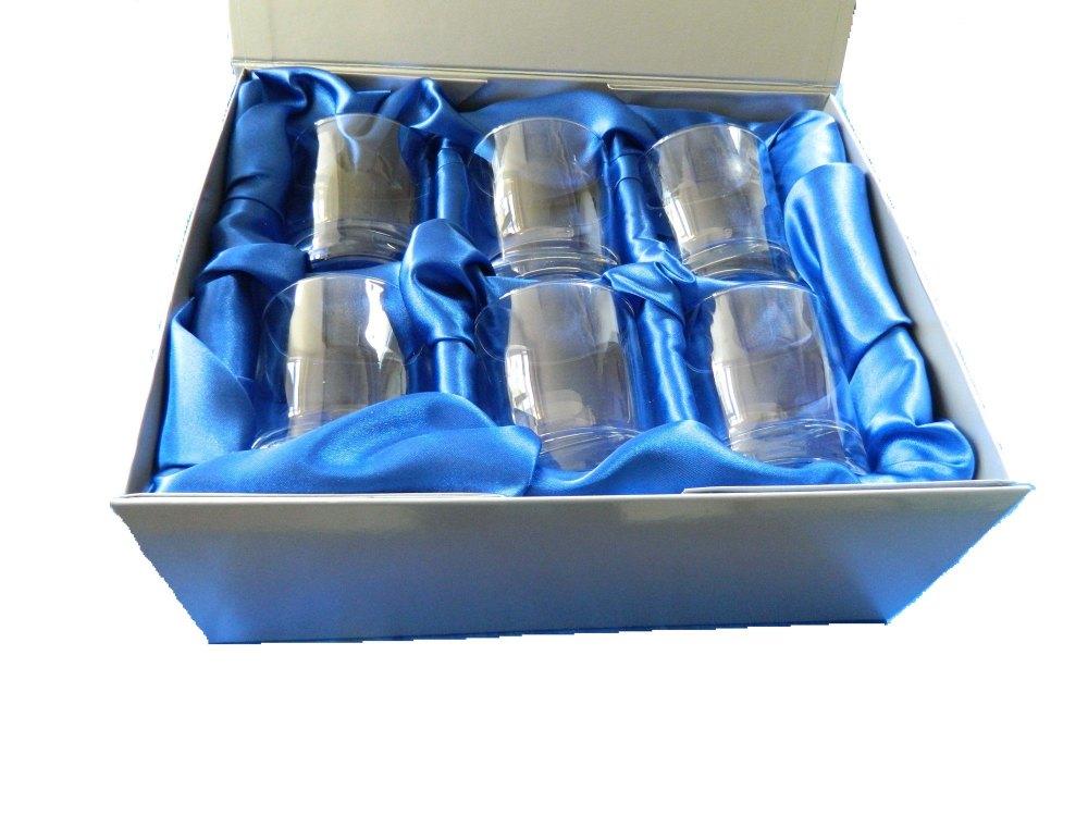 Pheasant whisky glasses set of six