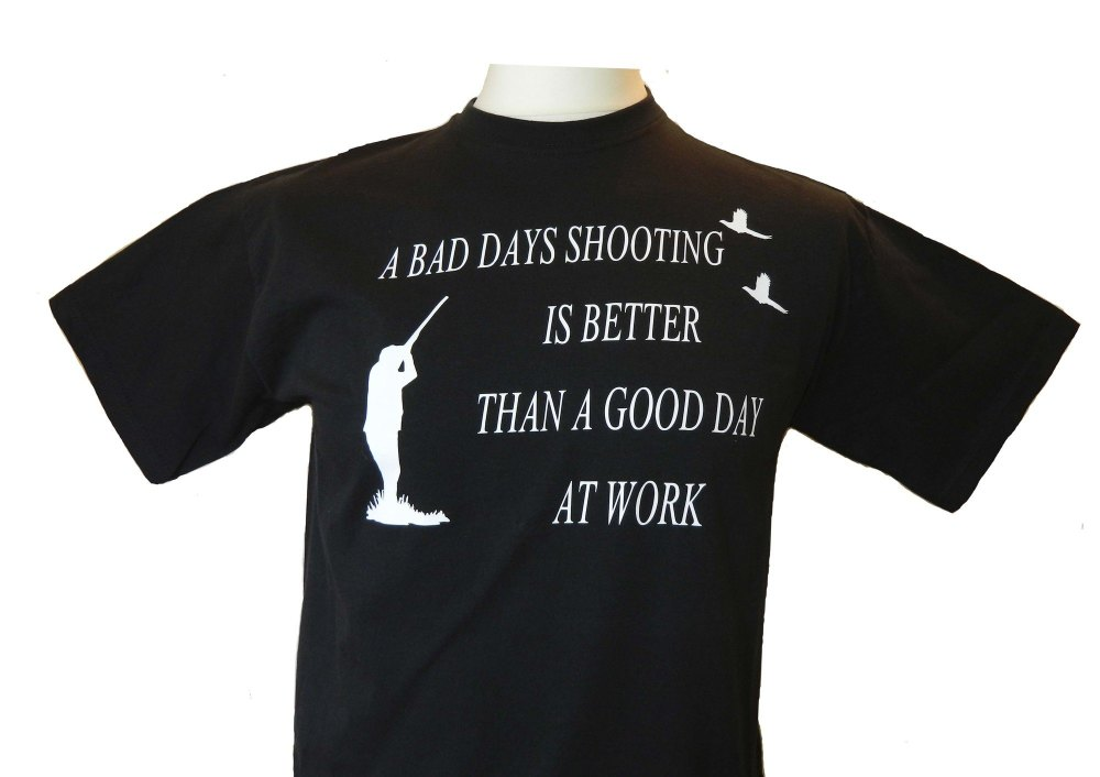 A Bad Days Shooting, Tee Shirt