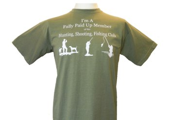 Hunting, shooting, fishing club Tshirt