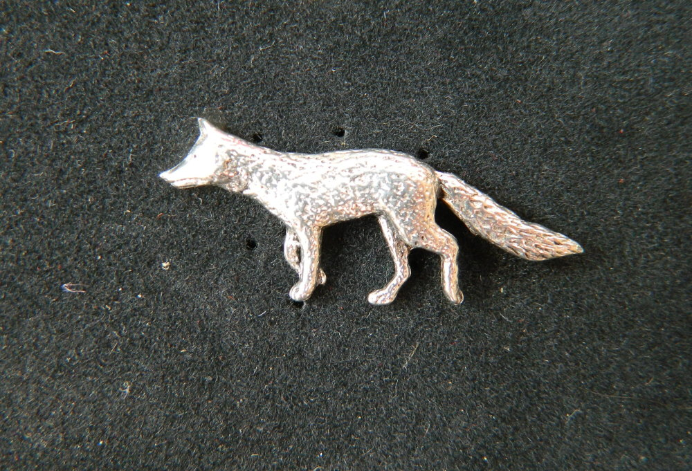 New Product Vixen pin badge