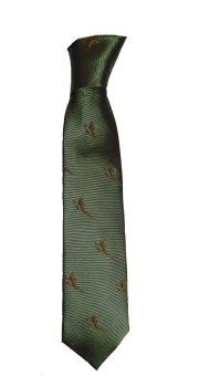 Silk Tie Flying pheasant