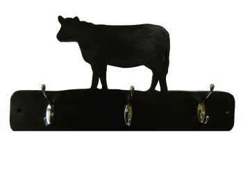 Coat Hooks --- Farmyard Cow