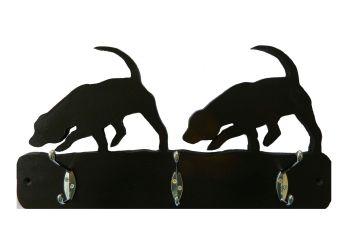 beagles -- hat and coat hooks