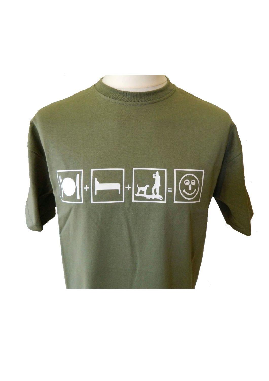 Eat, Sleep, Hunt, Happy, T Shirt