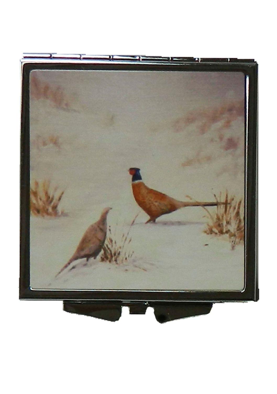 Winter pheasant Handbag Mirror