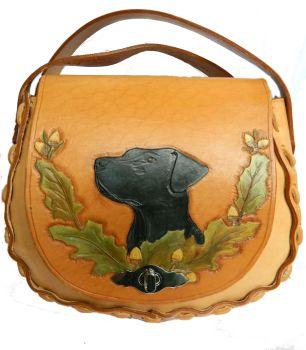 New Product Leather Shoulder bag, Labrador