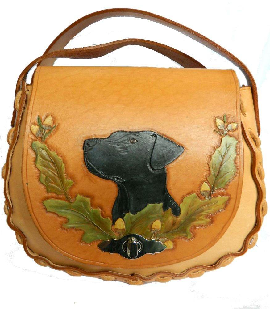 New Product Leather Shoulder bag, Labrador