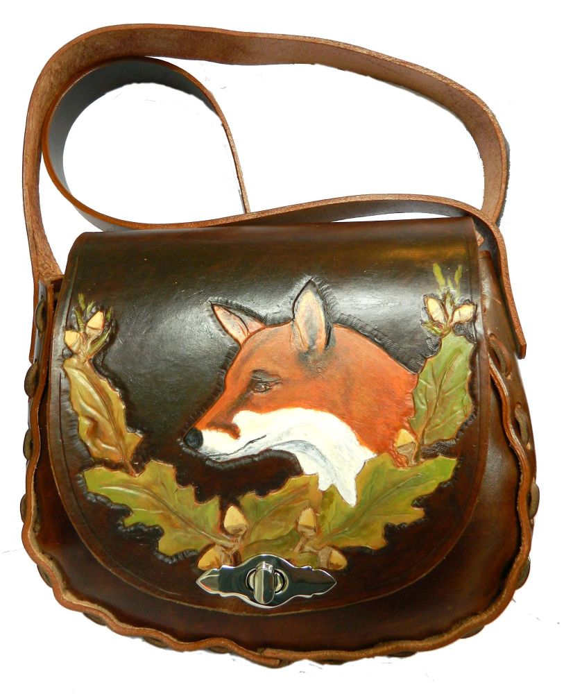 New Product Leather Shoulder bag, Fox