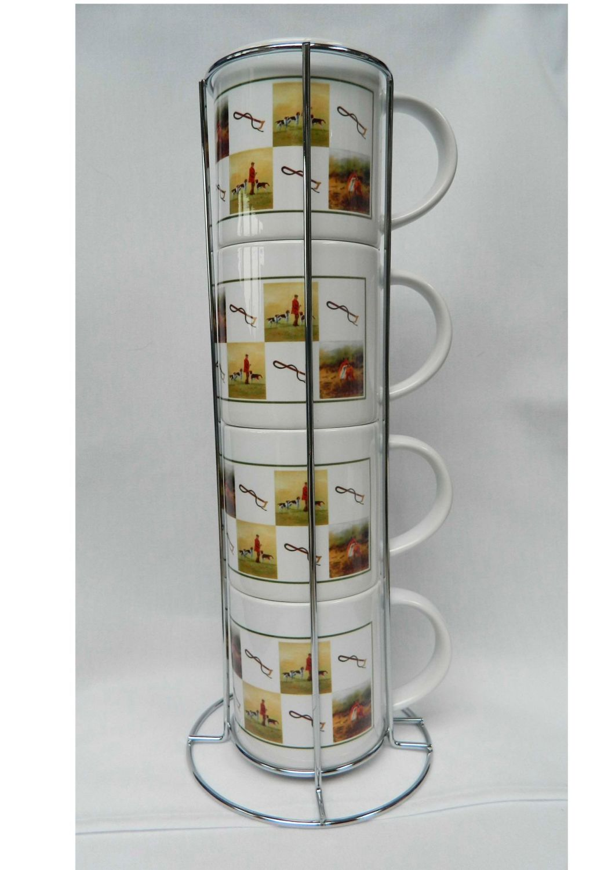 New Product Hunting stacking mugs